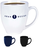 Shiny Finish Large C-handleNote: To prevent breakage, this product must ship in a damage resistant box, add $6.25 per caseNote: some geometric shapes and logos may distort due to the shape of the mug