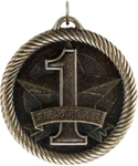 Value Line Medal Series. Available with many beautifully sculpted Academic titles & activities - Great for all your school awards! Available with FREE presentation ribbon with your choice of colors below. A GREAT economical and dimentional participation award!! Note - No rush Service available on this item & 12 piece minimum required.