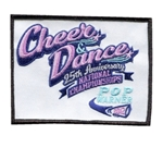 Pop Warner Cheer & Dance 25th Anniversary National Championships Patch