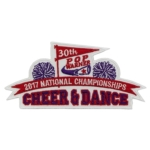 2017 National Championship Cheer & Dance Patch